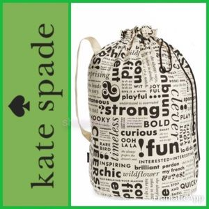 🎄🆕💚♠️Kate Spade New York Laundry Bag
